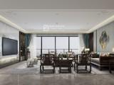 深圳新锦安壹号公馆,户型图300平,新中式风格,一站式整装